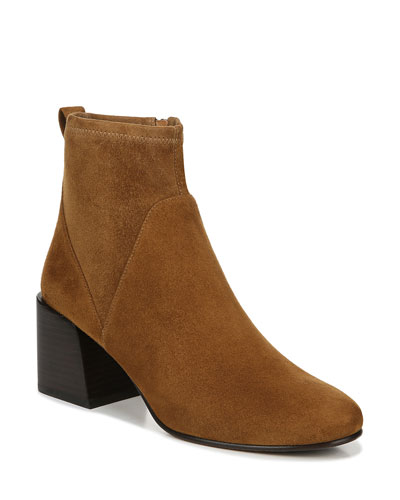 Diana Stretch Suede Booties