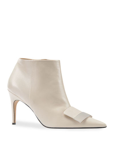 SR1 75mm Leather Booties