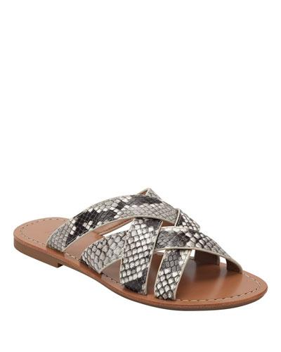 Roony2 Flat Slide Sandals