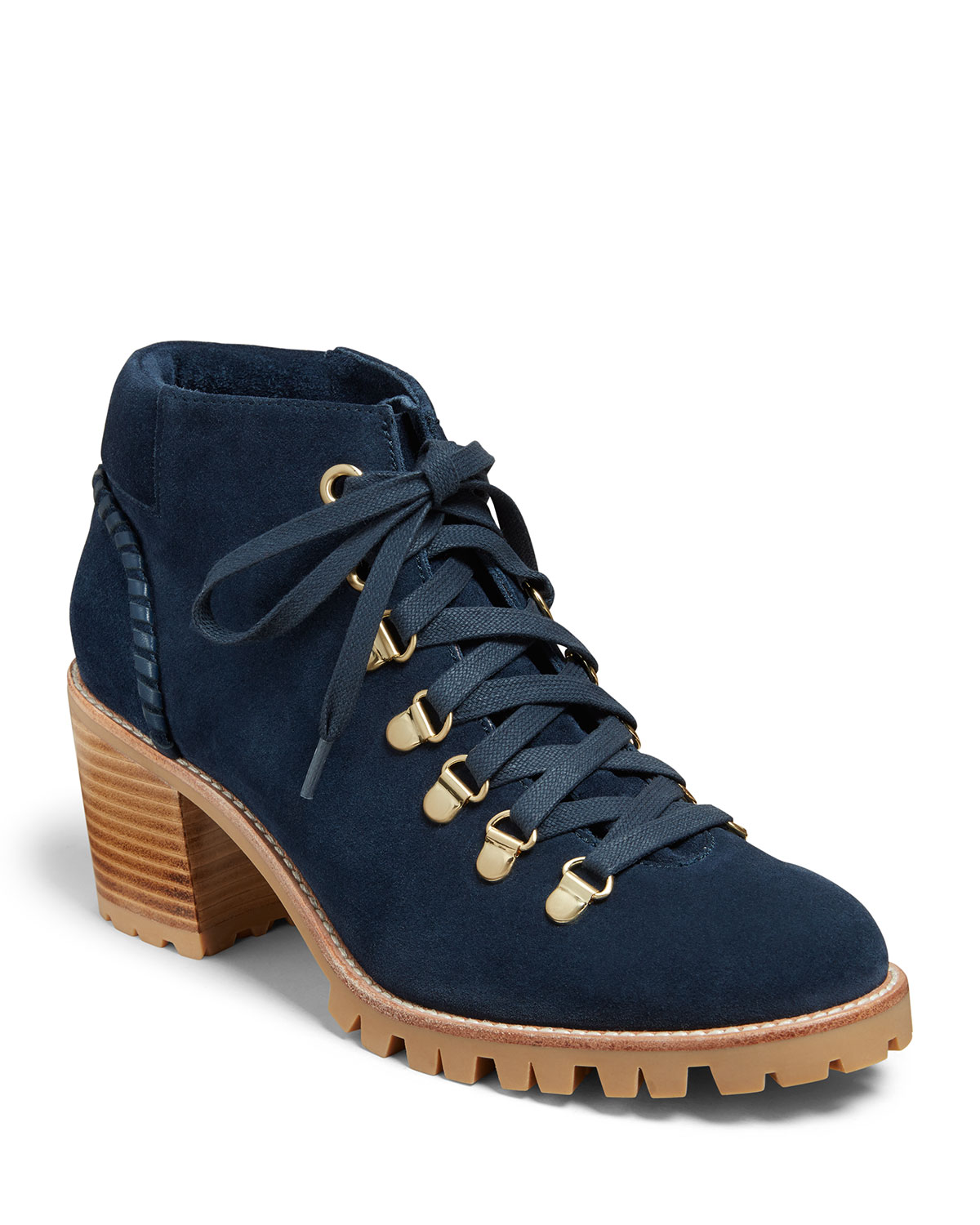 Jack Rogers Boots POPPY SUEDE HIKER BOOTS