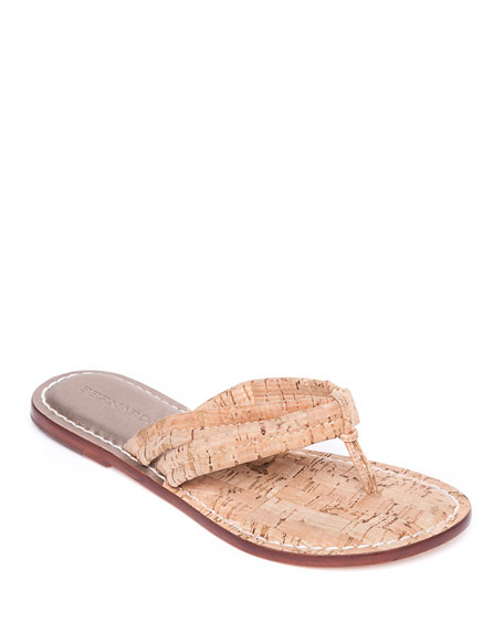Bernardo Miami Cork Thong Sandals