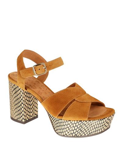 Dibe Suede Platform Sandals
