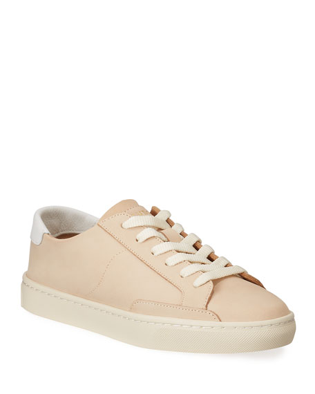 Soludos Ibiza Leather Low-Top Sneakers