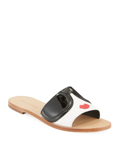 Hazel Flat StaceFace Slide Sandals