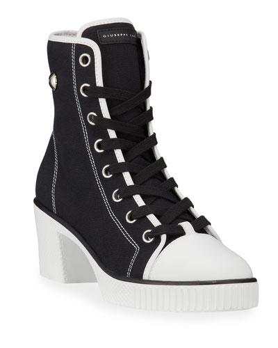 White High Top Sneaker | Neiman Marcus