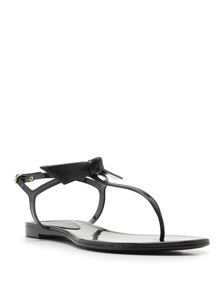 Alexandre Birman Clarita Mixed Jelly Flat Sandals