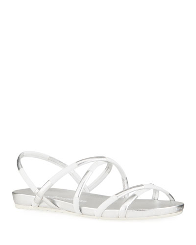 White Sandal Shoes | Neiman Marcus