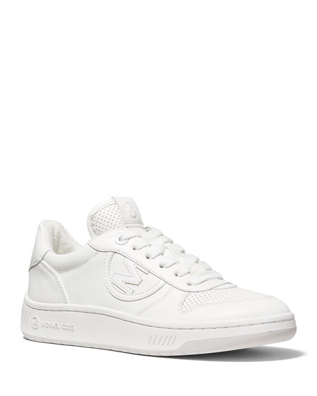 MICHAEL Michael Kors Gertie Leather Low-Top Sneakers