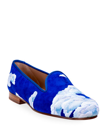 Cloud Nine Suede Slippers
