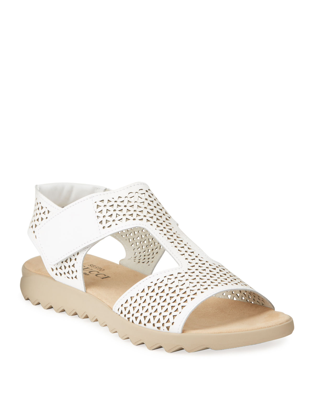 Sesto Meucci TOTSY COMFORT PERFORATED NAPA SANDALS