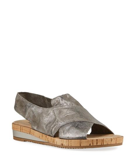 Sesto Meucci Sabita Comfort Leather Slingback Sandals
