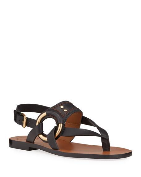 Chloe Demi Thong Flat Sandals