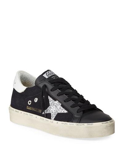 Hi-Star  Glitter Low-Top Sneakers