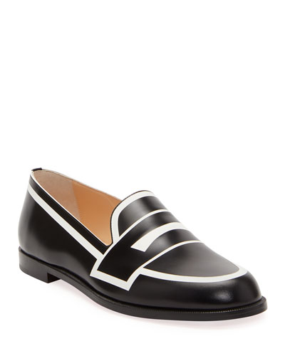 Round Toe Loafer | Neiman Marcus