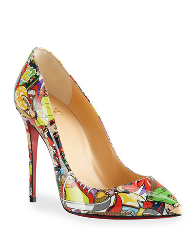 Pigalle Follies Printed Stiletto Pumps