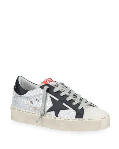 Hi Star Metallic-Print Platform Sneakers