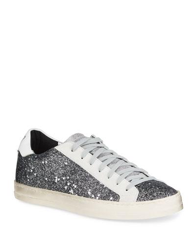 John Glitter Low-Top Sneakers