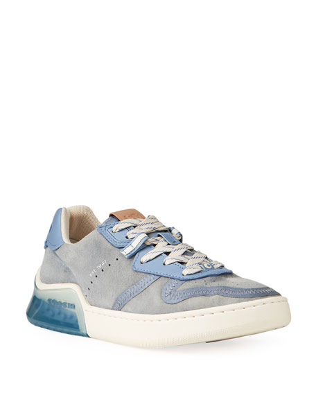 Coach Citysole Suede Court Sneakers
