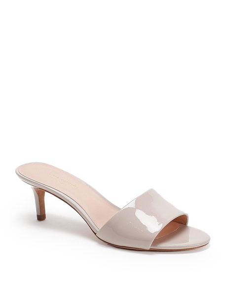 kate spade new york savvi patent slide sandals