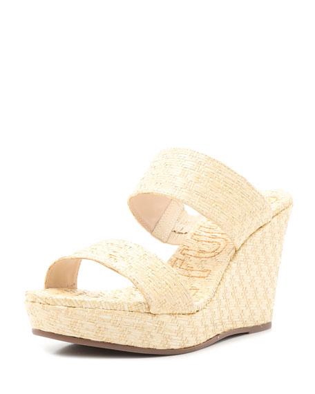 Schutz Tarla Wedge Slide Sandals