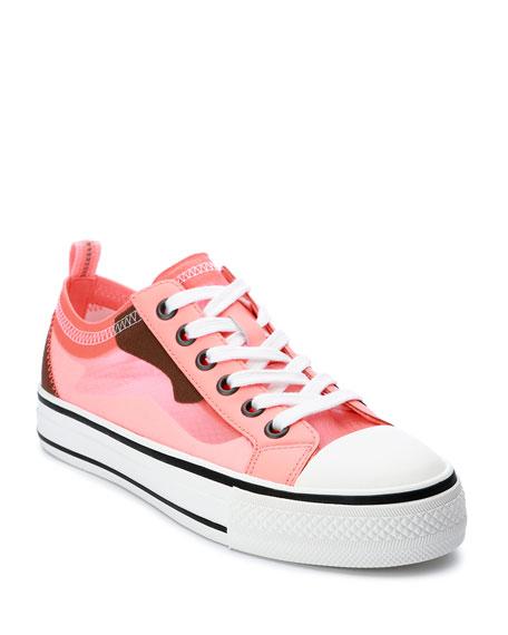 Ash Vertu Camo Low-Top Sneakers