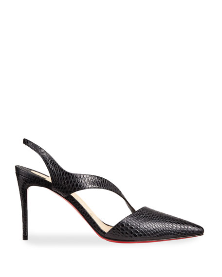 Christian Louboutin Brandina Slingback Red Sole Pumps