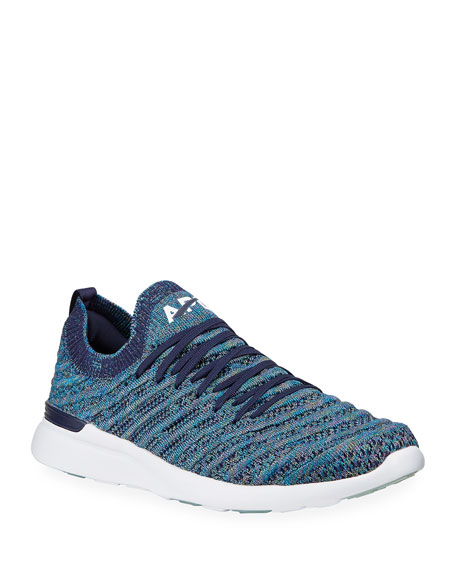 APL: Athletic Propulsion Labs Techloom Wave Metallic Two-Way Running Sneakers