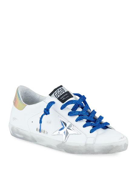 Golden Goose Superstar Low-Top Court Sneakers