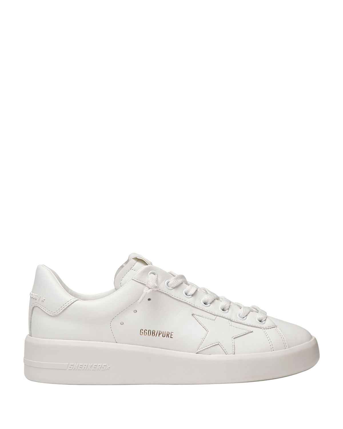 Pure Star Classic White Sneakers