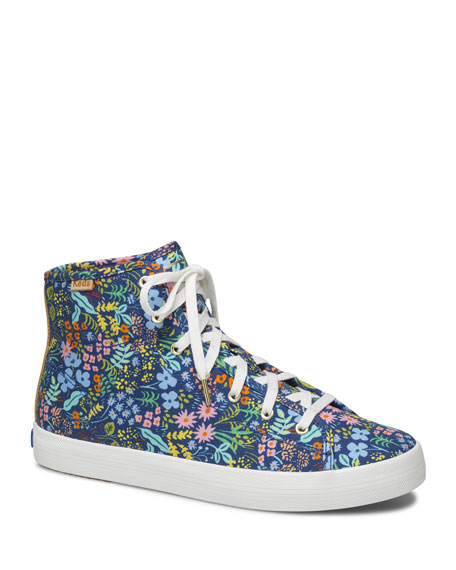 Keds Kickstart Meadow Floral High-Top Sneakers
