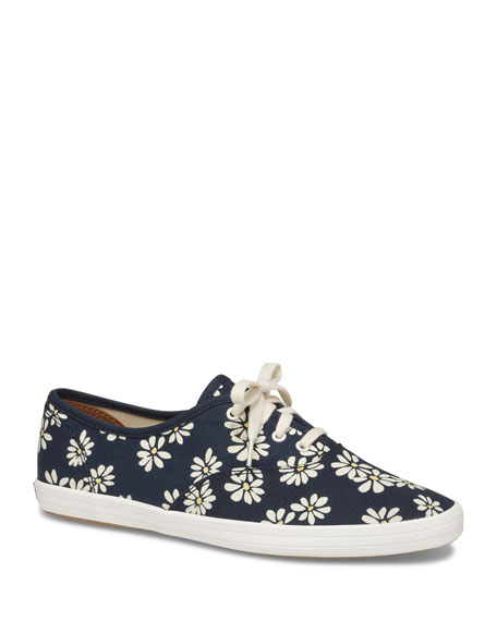 Keds Champion Floral Low-Top Sneakers
