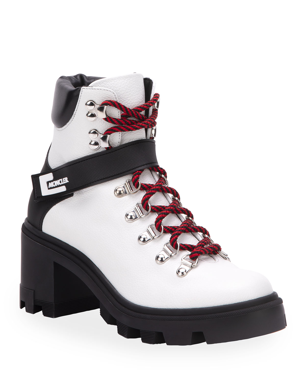 Carol Heeled Hiking Boots