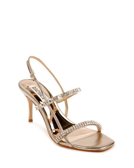Badgley Mischka Zane Strappy Napa Sandals