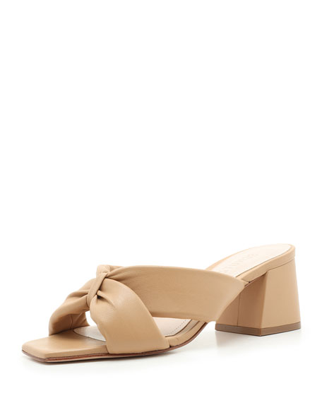 Schutz Butterfly Slide Sandals