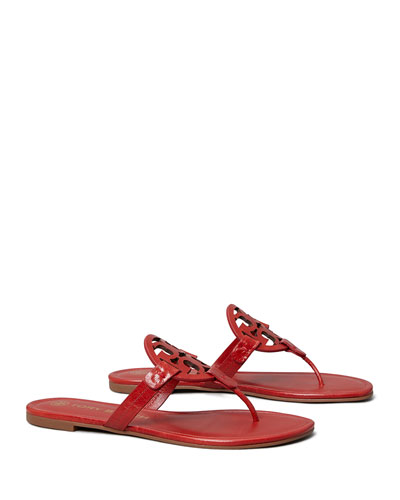 Miller Medallion Thong Flat Sandals