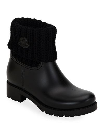 Ginette Cuffed Rain Boots