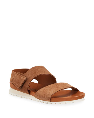 Jeong Suede Sport Sandals
