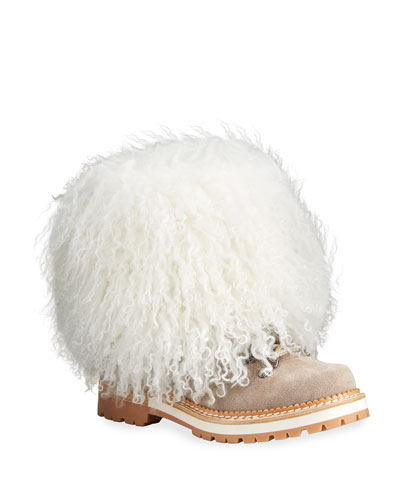 Seicento Shearling Hiking Boots