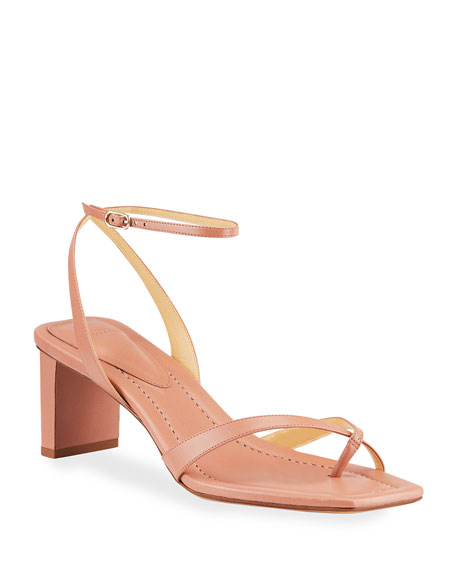 Alexandre Birman Nelly Crisscross Toe-Ring Sandals