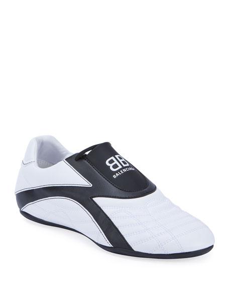 Balenciaga Zen Quilted Bicolor Trainer Sneakers