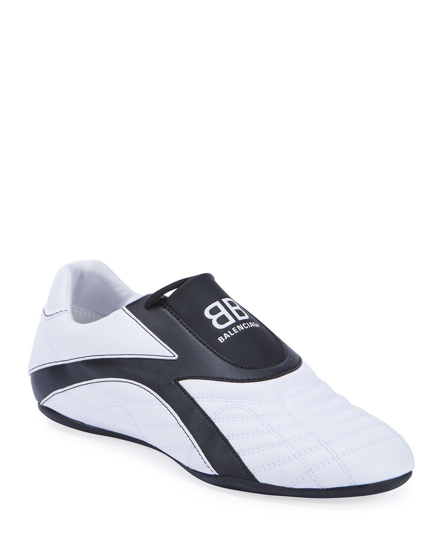 Balenciaga Low heels ZEN QUILTED BICOLOR TRAINER SNEAKERS