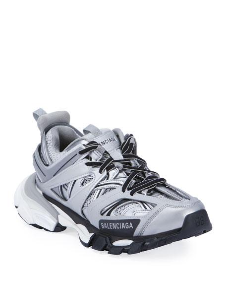 Balenciaga Track Colorblock Fashion Trainer Sneakers
