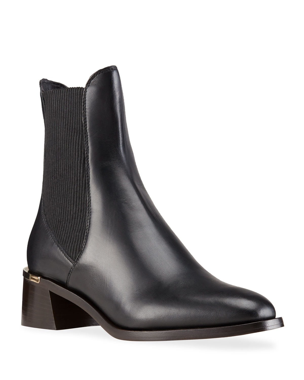 Rourke Leather Chelsea Booties