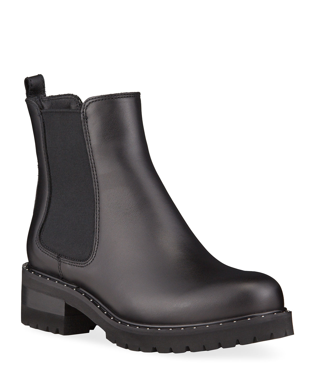 Charlie Gored Leather Ankle Waterproof Booties