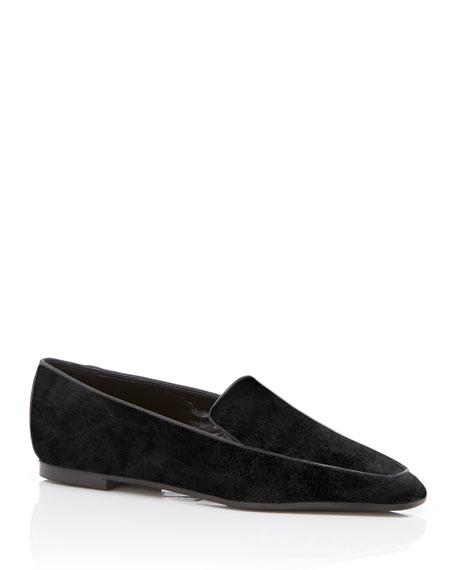 Marion Parke Caroline Suede Flat Loafers