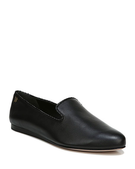 Veronica Beard Griffin Easy Leather Loafers