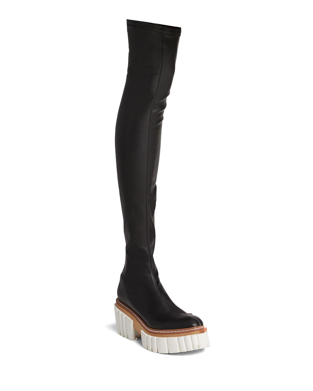 Emilie Thigh-High Platform Boots