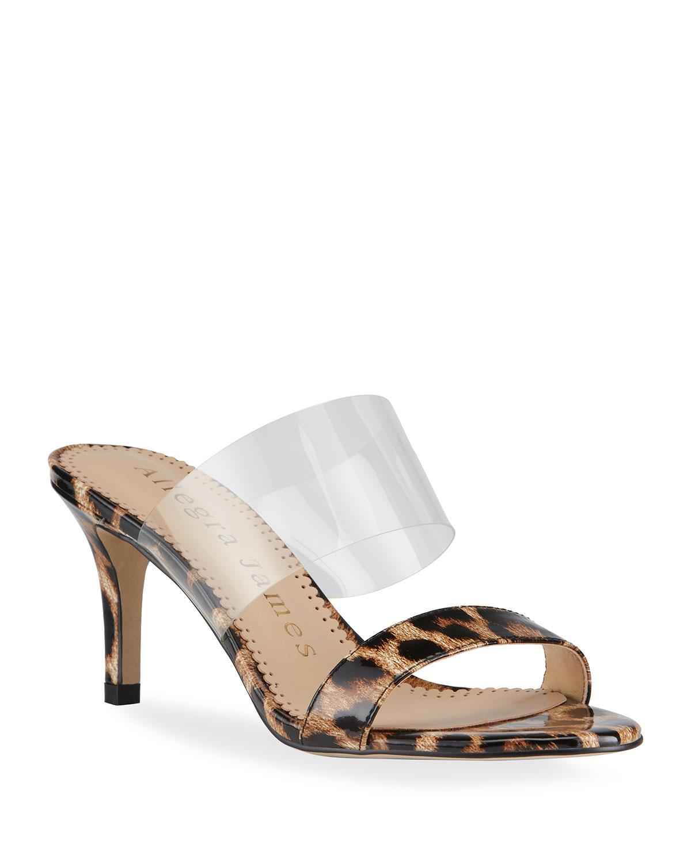 Chase Leopard-Print Slide Sandals