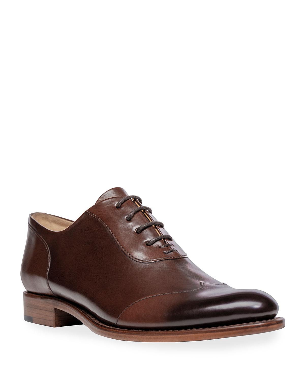 Mr. Evans Wing-Tip Oxford Loafers