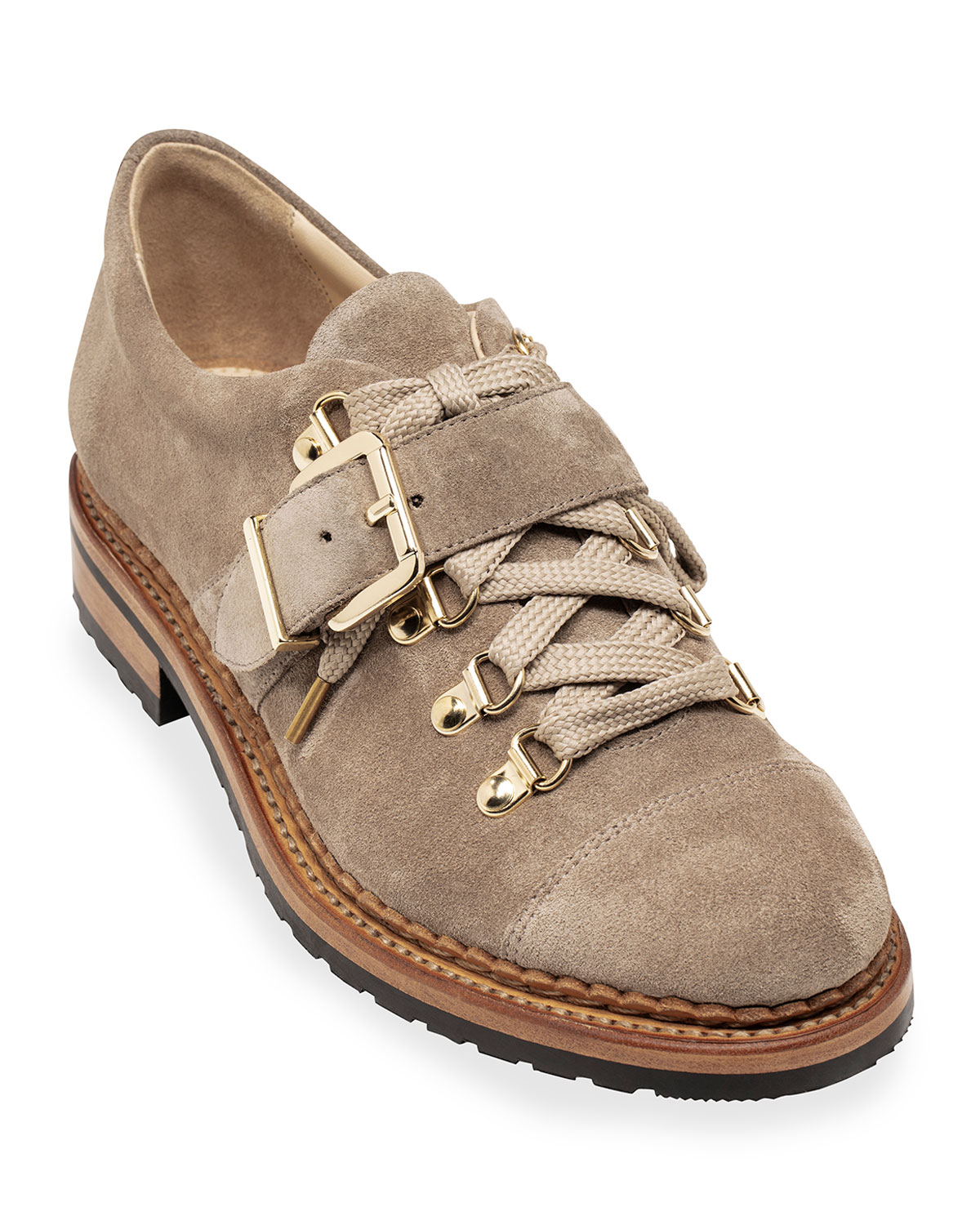 Mr. Logan Suede Buckle Loafers